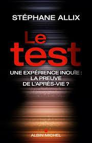 Couiverture livre Stéphane Allix Le test